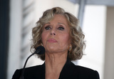Jane Fonda Photo - 6 November 2018-  Hollywood California - Jane Fonda Hollywood Walk of Fame Ceremony Honoring Michael Douglas held at Hollywood  Vine Photo Credit Faye SadouAdMedia
