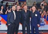 Nick Lachey Photo - 26 August 2018 - Toronto Ontario Canada  Drew Lachey Jeff Timmons Nick Lachey and Justin Jeffre of 98 Degrees arrive at the 2018 iHeartRadio MuchMusic Video Awards at MuchMusic HQ Photo Credit Brent PerniacAdMedia