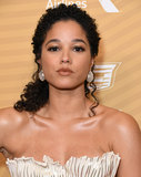 Alisha Wainwright Photo - 23 February 2020 - Beverly Hills California - Alisha Wainwright American Black Film Festival Honors Awards Ceremony held at the Beverly Hilton Hotel Photo Credit Birdie ThompsonAdMedia