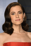 Allison Williams Photo - 04 March 2018 - Los Angeles California - Allison Williams 2018 Vanity Fair Oscar Party following the 90th Academy Awards held at the Wallis Annenberg Center for the Performing Arts Photo Credit Birdie ThompsonAdMedia