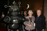 Anne Francis Photo - Robby The Robot with Anne Francis and Warren Stevensat the 50th Anniversary Gala Screening of Forbidden Planet Egyptian Theatre Hollywood CA 11-08-06