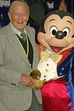 Art Linkletter Photo - Art Linkletter and Mickey Mouseat the Disneylands 50th Anniversary Happiest Homecoming On Earth Disneyland Anaheim CA 05-04-05