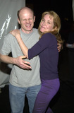 Lea Thompson Photo -  LEA THOMPSON and PAUL MCCRANE at the Starry Starry Night 2001 to benefit A Place Called Home inner city youth programs Wadsworth Theater Brentwood 03-16-01