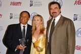 Jillie Mack Photo - Charles Floyd Johnson with Jillie Mack and Tom Selleckat the 2006 Celebration of Diversity held by the Producers Guild of America Regent Beverly Wilshire Beverly Hills CA 05-09-06