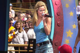 A-Teens Photo -  A-Teens at the Radio Disney Jams 3 launch Tororrowland Terrace Disneyland 03-31-01