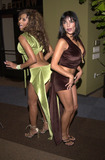 Traci Bingham Photo -  Traci Bingham and Apollonia at the LA Short Film Festival Sunset Room Hollywood 10-05-00