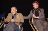 Anne Robinson Photo -  Robert Cornthwaite and Ann Robinson at the American Cinematheques screening of War of the Worlds in Hollywood 02-12-00