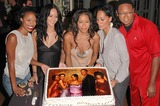 Jill Marie Jones Photo - Jill Marie Jones Persia White Golden Brooks Tracee Ellis Ross and Reggie Hayes at the celebration in honor of 100 Episodes of Girlfriends at Stage 23 Paramount Pictures Hollywood CA 10-06-04
