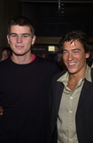 Andrew Keegan Photo -  Josh Hartnett and Andrew Keegan at the premiere of the Lions Gate film O at Loews Cineplex Theaters Century City 08-27-01