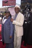 Samuel Jackson Photo - Samuel L Jackson with wife LaTanya and Darth Vader at the premiere of Stars Wars Episode II Attack of the Clones at the Chinese Theater Hollywood 05-12-02