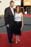 Christian Vincent Photo - Peri Gilpin and husband Christian Vincent at the Frasier Finale Party in Barker Hangar at the Santa Monica Airport Santa Monica CA 05-05-04