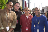 All 4 One Photo -  ALL 4 ONE at the celebrity recording of We Are Family to benefit the victims of New Yorks 9-11 tragedy 09-23-01
