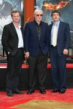 Alan Horne Photo - Christopher Nolan with Michael Caine and Alan Horn at the Hand and Footprint Ceremony Honoring Michael Caine Graumans Chinese Theater Hollywood CA 07-11-08