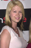Avant Photo -  JENNA ELFMAN at the InStyle Magazines exhibition of avante-garde artist Bryten Goss work Quixote Studios West Hollywood 06-28-01