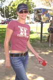 Johnny Carson Photo - Charlize Theron at the Best Friends Animal Sanctuary Pet Adoption Festival at Johnny Carson Park Burbank CA 09-14-02