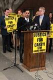 Casey Kasem Photo - Mike Kasemat Casey Kasems Family Press Conference Stanley Mosk Courthouse Los Angeles CA 01-30-15