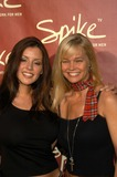 Julie McCullough Photo - Julie McCullough and Penelope Jimmenez at The Launch of Spike TV Playboy Mansion Los Angeles Calif 06-10-03