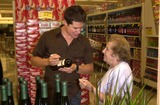 Andrew Firestone Photo - Andrew Firestone and fan at Pavilions in West Hollywood Making an appearance to promote his familys vineyard label West Hollywood CA 08-11-03