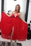Adolfo Sanchez Photo - Maitland Wardtries out New Years Eve dresses at Creativ PR Shop with the help of designer Adolfo Sanchez Creative PR Shop Los Angeles CA 12-30-14