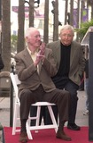 Arte Johnson Photo - Dick Martin and Arte Johnson at the Walk of Fame ceremony for Rowan and Martin Hollywood Blvd 04-02-02