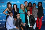 Angie Miller Photo - Angie Miller Kree Harrison Janelle Arthur Devin Velez Amber Holcomb Burnell Taylor Candice Glover Curtis Finch Jr Lazaro Arbos Paul Jolleyat the American Idol Finalists Party The Grove Los Angeles CA  03-07-13