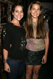 Anna Chonacas Photo - Anna Chonacas and Katie Chonacasat the Art Showing of work by Katie Chonacas Groundwork Coffee Hollywood CA 07-06-09