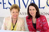 Carol Higgins Clark Photo - Mary Higgins Clark and Carol Higgins Clark at the Los Angeles Times Festival of Books - Day Two at UCLA Westwood CA 04-25-04