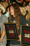 Iron Maiden Photo - Steve Harris at the ceremony honoring Iron Maiden with induction in to the Hollywood Rockwalk Rockwalk HollywoodCA 08-19-05