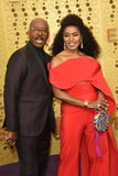 Courtney B Vance Photo - LOS ANGELES - SEP 22  Courtney B Vance Angela Bassett at the Primetime Emmy Awards - Arrivals at the Microsoft Theater on September 22 2019 in Los Angeles CA