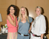 April OBrien Photo - Lisa EdelsteinJennifer Gareisand her cousin April OBrienGBK Productions Emmy Gifting LoungeSofitel HotelAugust 24 2006
