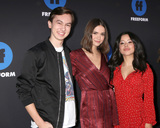 Maia Mitchell Photo - LOS ANGELES - JAN 18  Hayden Byerly Maia Mitchell Cierra Ramirez at the Freeform Summit 2018 at NeueHouse on January 18 2018 in Los Angeles CA