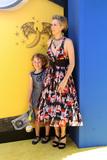 Nev Scharrel Photo - LOS ANGELES - JUN 24  Nev Scharrel Kristen Wiig at the Despicable Me 3 Premiere at the Shrine Auditorium on June 24 2017 in Los Angeles CA
