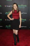 Alyssa Jirrels Photo - LOS ANGELES - FEB 17  Alyssa Jirrels at the Zootopia Premiere at the El Capitan Theater on February 17 2016 in Los Angeles CA