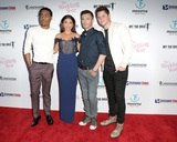 Tyler James Williams Photo - LOS ANGELES - SEP 13  Tyler James Williams Sarah Hyland Robert Luketic Matt Shively at the The Wedding Year Premiere at the ArcLight Hollywood on September 13 2019 in Los Angeles CA