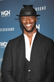 Aldis Hodge Photo - LOS ANGELES - JAN 8  Aldis Hodge at the Underground WGN Winter 2016 TCA Photo Call at the The Langham Huntington Hotel on January 8 2016 in Pasadena CA