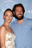 Zach Levi Photo - Yvonne Strahovski  Zach Levi  arriving at the NBC TCA Party at The Langham Huntington Hotel  Spa in Pasadena CA  on August 5 2009