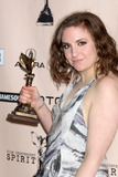 Lena Dunham Photo - LOS ANGELES - FEB 26  Lena Dunham in the Press Room of the 2011 Film Independent Spirit Awards at Beach on February 26 2011 in Santa Monica CA