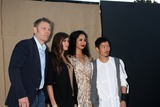 Aaron Yoo Photo - LOS ANGELES - JUL 29  Mark Pellegrino Peyton List Madeleine Mantock Aaron Yoo arrives at the 2013 CBS TCA Summer Party at the private location on July 29 2013 in Beverly Hills CA