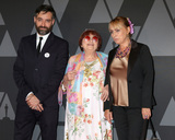 Agnes Varda Photo - LOS ANGELES - NOV 11  Mathieu Demy Agnes Varda Rosalie Varda at the AMPAS 9th Annual Governors Awards at Dolby Ballroom on November 11 2017 in Los Angeles CA