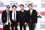 Andy Hurley Photo - LOS ANGELES - NOV 17  Fall Out Boy Group Andy Hurley Patrick Stump Pete Wentz Joe Trohman at the TeenNick Halo Awards at Hollywood Palladium on November 17 2013 in Los Angeles CA