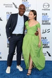 Lulu Photo - LOS ANGELES - FEB 8  Barry Jenkins and Lulu Wang at the 2020 Film Independent Spirit Awards at the Beach on February 8 2020 in Santa Monica CA