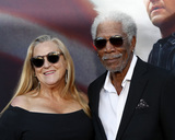 Morgan Freeman Photo - LOS ANGELES - AUG 21  Lori McCreary Morgan Freeman at the Angel Has Fallen Premiere at the Village Theater on August 21 2019 in Westwood CA