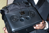 Jamie Foxx Photo - LOS ANGELES - FEB 23  Jamie Foxx bag boombox detail at the American Black Film Festival Honors Awards at the Beverly Hilton Hotel on February 23 2020 in Beverly Hills CA