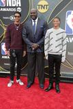 Shaquille O Photo - LOS ANGELES - JUN 24  Shareef ONeal Shaquille ONeal Shaqir ONeal at the 2019 NBA Awards at the Barker Hanger on June 24 2019 in Santa Monica CA