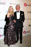 Alana Stewart Photo - LOS ANGELES - MAR 4  Alana Stewart George Hamilton at the 2018 Elton John AIDS Foundation Oscar Viewing Party at the West Hollywood Park on March 4 2018 in West Hollywood CA