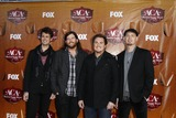 Chris Thompson Photo - LOS ANGELES - DEC 5  Chris Thompson James Young Mike Eli and Jon Jones of the Eli Young Band arrives at the American Country Awards 2011 at MGM Grand Garden Arena on December 5 2011 in Las Vegas NV