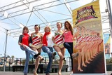 The Radio City Rockettes Photo - LOS ANGELES - AUG 12  Kate Linder Traci Reszetylo-Grim Stephanie Gatschet Katie Russell  Chrishnell Strause at the  Kicking Across America with the Radio City Rockettes Event at Santa Monica Pier on August 12 2010 in Santa Monica  CA