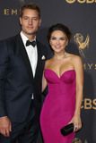 Justin Hartley Photo - LOS ANGELES - SEP 17  Justin Hartley Chrishell Stause at the 69th Primetime Emmy Awards - Arrivals at the Microsoft Theater on September 17 2017 in Los Angeles CA