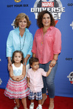 Angelica Vale Photo - LOS ANGELES - JUL 8  Angelica Maria Angelica Vale Children at the Marvel Universe Live Red Carpet at the Staples Center on July 8 2017 in Los Angeles CA