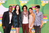 Avan Jogia Photo - LOS ANGELES - APR 2  Leon Thomas III Elizabeth Gillies Avan Jogia Ariana Grande and Matt Bennett arriving at the 2011 Kids Choice Awards at Galen Center USC on April 2 2011 in Los Angeles CA